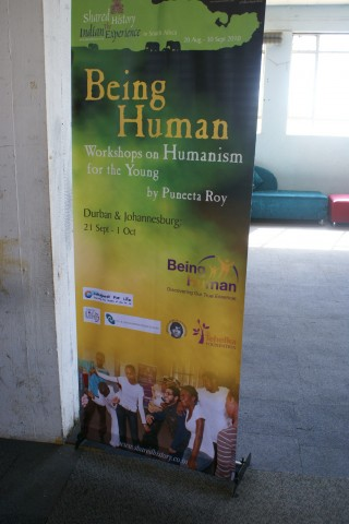"Feedback from the ""Being Human"" workshops with CFL, Johannesburg"